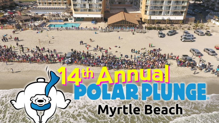 2019 Marks The 14th Annual Myrtle Beach SC Polar Plunge!